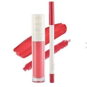 2012 Kab lip liner + lip gloss charming